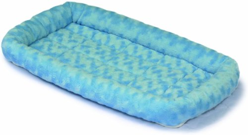 MidWest Deluxe Bolster Pet Bed for Dogs & (Designer Cat Beds)