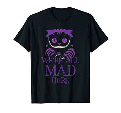 Evil Cheshire Cat T-Shirt - Halloween Tshirt - Spooky Shirt