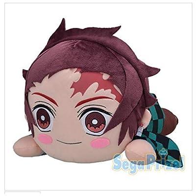 Sega KiMETSU NO YAIBA Mega Jumbo Nesoberi stuffed Soft plush 40cm Tanjiro Kamado: Toys & Games