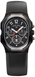 Philip Stein Men's 23B-NBO-RB Classic Chronograph Dial Watch