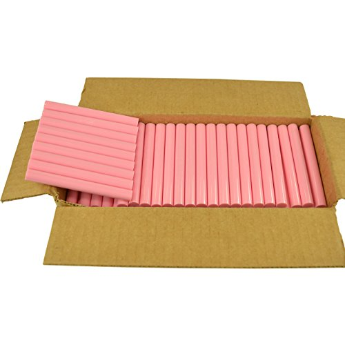 GlueSticksDirect Pink Colored Glue Sticks 7/16'' X 4'' 5 lbs by GlueSticksDirect.com (Image #5)