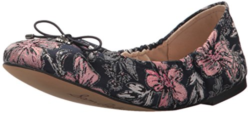 Sam Edelman Women's Felicia Ballet Flat Navy Multi/Secret Garden Jacquard 7Guv9E9cZf