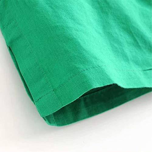 Giacche Green Di In Lavoro Da Donna Cotone Auspiciousi Lino 7gOdwRzcRq