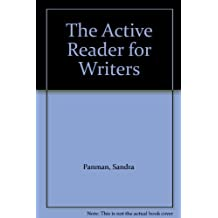 The Active Reader for Writers 3rd edition by Panman, Sandra (2004) Paperback