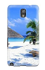 HxouXZS837wsAQv Tpu Phone Case With Fashionable Look For Galaxy Note 3 - Artistic Awesome Tropical Beach
