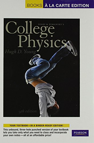 College Physics, Books a la Carte Plus MasteringPhysics with eText -- Access Card Package (9th Edition)