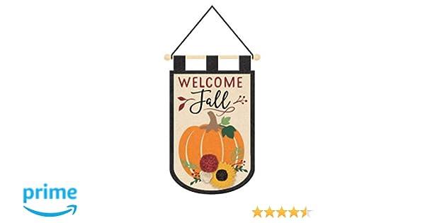 8 Piece Autumn Fall Themed Window Cling Set Pumpkins