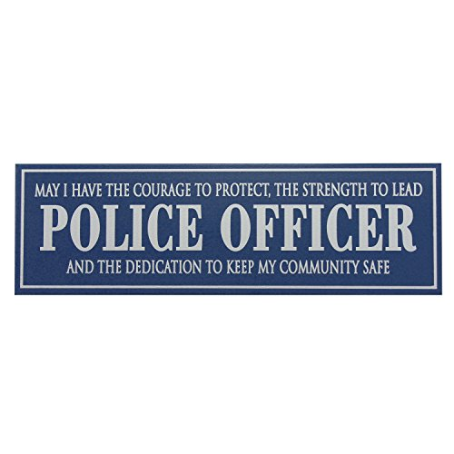 Police Officer - 5x16 Wooden Sign by My Word! (Decor Wooden Words)