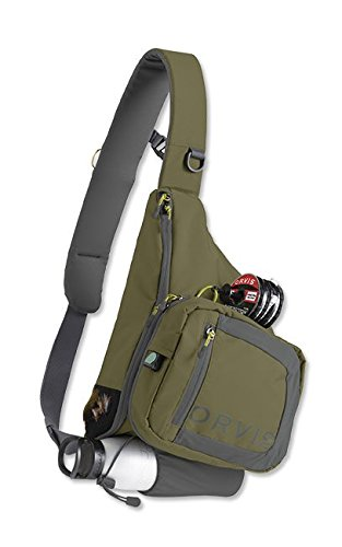 Orvis Safe Passage Sling Pack/Only Safe Passage Sling Pack, Olive Gray