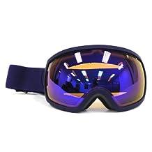 Electric EG2 Snow Goggle, Dark Night, Bronze/Blue Chrome by Electric California