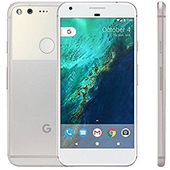 Google Pixel 128GB – 5″ Android GSM 4G LTE Factory Unlocked – International Version (No Warranty) – Very Silver