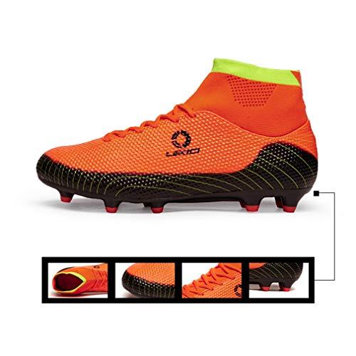 Farbe Frauen Erwachsene Trainingsschuhe Damenschuhe C Männer Eltern up Fußballschuhe C und Kind 39 Größe Schuhe Top Exing High Lace HWAq46SFW7