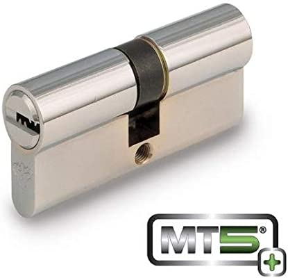 Mul T Lock Mt5 Euro Profile Double Cylinder Bright Brass 33 X