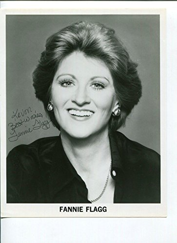 - Fannie Flagg Fried Green Tomatoes Author Grease Star Signed Autograph Photo