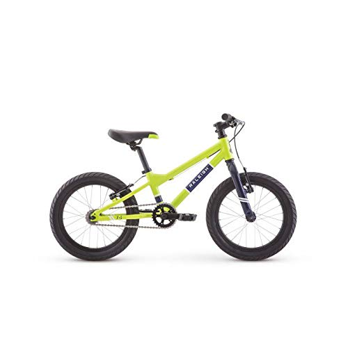 RALEIGH Bikes Rowdy 16 Kids Bike for Boys Youth 3-6 Years Old, Green by RALEIGH (Image #1)