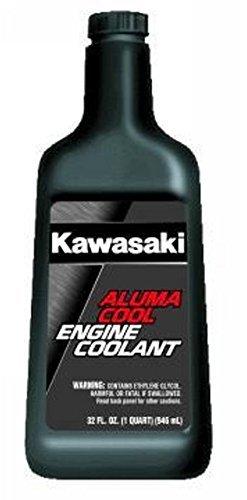 Cool Engine Coolant (Kawasaki Aluma Cool Engine Coolant Pre-Diluted 32 Ounce Bottle)