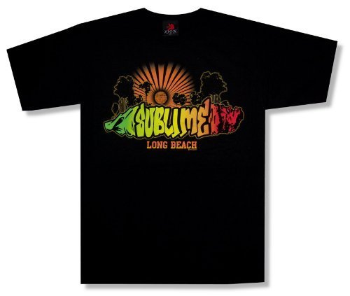 """Zion Adult Sublime """"Rays"""" Black T-Shirt"""
