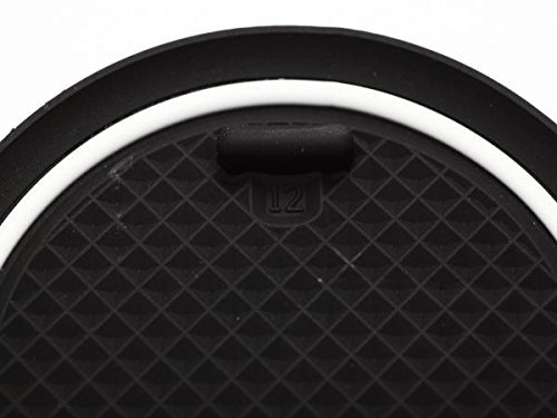 KINMEI Toyota Sienta SIENTA white NSP140 NCP141 system specially designed interior door pocket mat drink holder slip non-slip storage space protection rubber mats TOYOTAk-10 by KINMEI (Image #4)