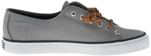 US Seacoast Sider Sperry Grey M Women's 8 Top Fashion Sneaker aqaxzRt5w