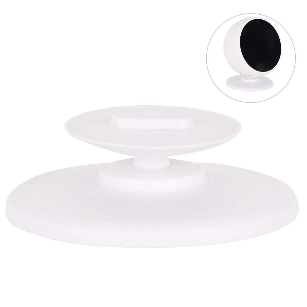 Colore: Nero o Bianco Bianco Girevole a 360/° Regolabile Supporto per dispositivi  Echo Spot leegoal  Echo Spot