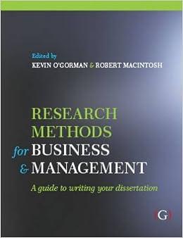 Dissertation in business management