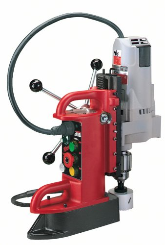 1 Electromagnetic Drill Press - Milwaukee 4210-1 12.5 Amp Electromagnetic Drill Press with 3/4-Inch Motor and Chuck
