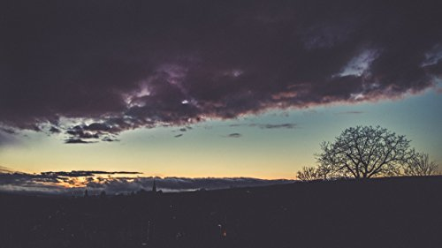 Sunset And Clouds by