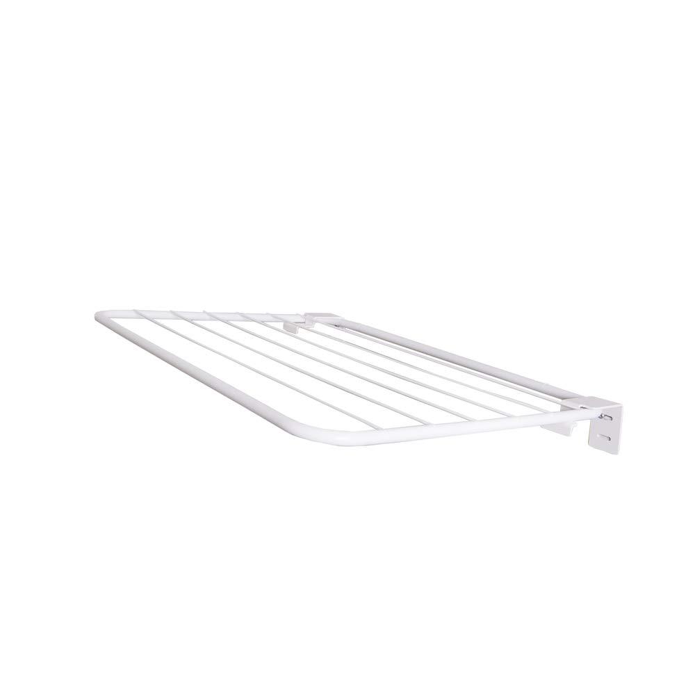 ORYX 5160325 Tendedero Extensible Pared Aluminio 1,20 Metros