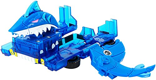 Mecard King Jaws Deluxe Mecardimal Figure, Blue