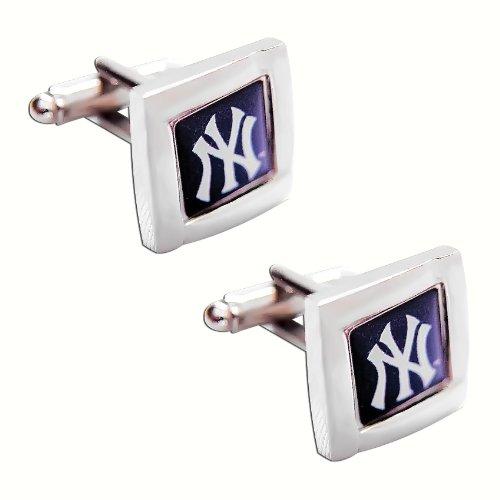 MLB New York Yankees Square Cuff Links