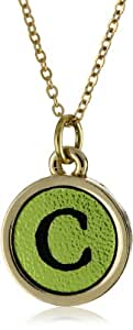 """Dillon Rogers Shimmering Metallic Pendant Necklace s Initial """"C"""" Necklace"""