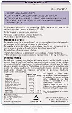 Natura Essenziale Soñodina - 60 Comprimidos: Amazon.es: Salud y ...