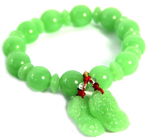 Pe Sia, Pi Yao, Pi Xiu, Dragon Chinese, Luck, Wealth, Success, Mala, Handmade Bracelet (S5512)