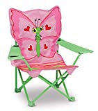 ZY Sunny Patch Bella Butterfly Outdoor Folding Lawn and Camping Chair, Melissa & Doug