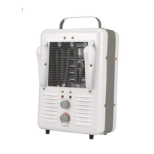 TPI Corporation 188TASA Fan Forced Portable Heater - Milk House Style Fan, 1500/1300W, 120V, Durable Winter Care Accessory. Genuine Heating Equipment