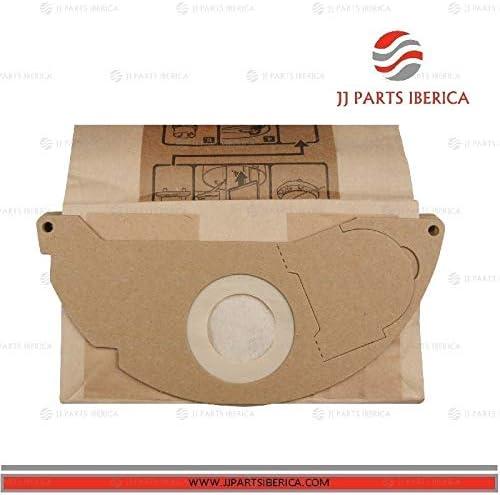 JJ PARTS IBÉRICA Pack 10UD Bolsas Aspirador KARCHER A 2004 PT ...