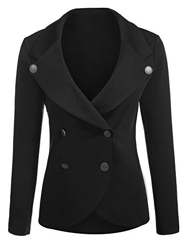 Double Breasted Crop Jacket - 7