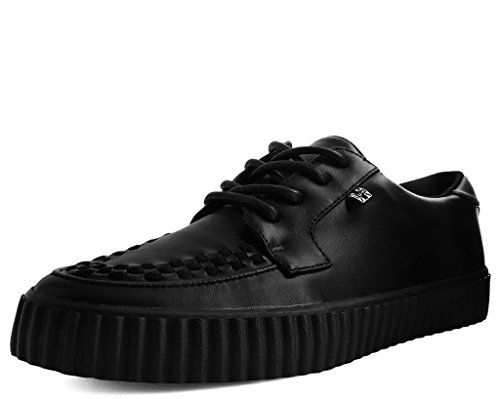 T.U.K. Shoes A9366 Unisex-Adult Creepers, Black TUKskin EZC Creeper