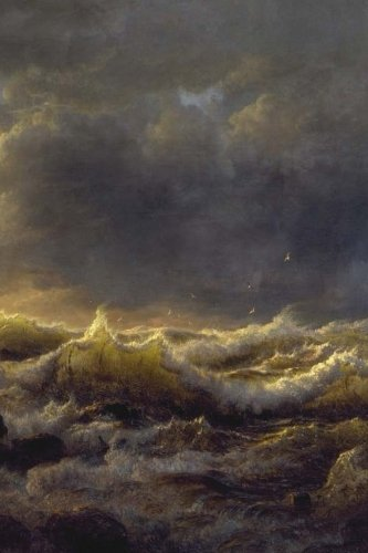 Stormy Sea Notebook por Wild Pages Press