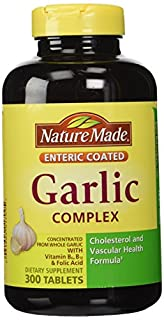 Nature Made Garlic Complex with Vitamin B6, Vitamin B12 & Folic Acid - 300 Enteric Tablets (B005NDNNO4) | Amazon price tracker / tracking, Amazon price history charts, Amazon price watches, Amazon price drop alerts