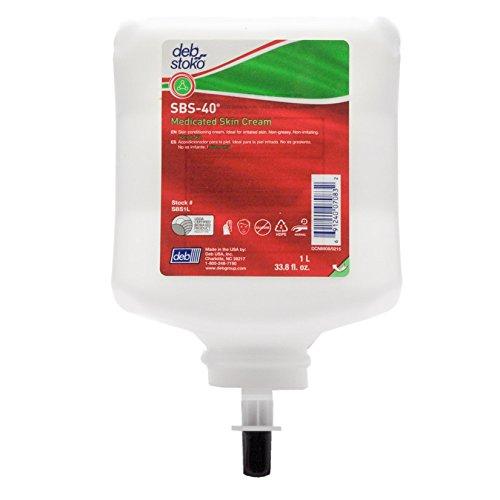Price comparison product image SBS 40 Medicated Skin Cream 1 Liter for New Deb Stoko Dispenser