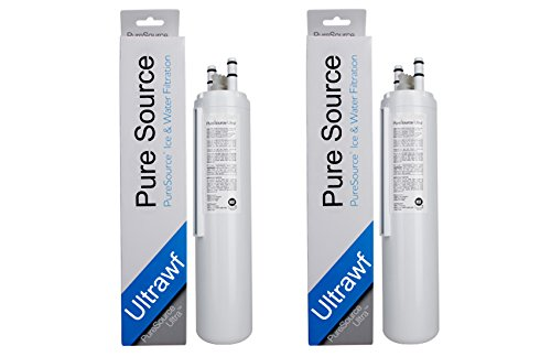 TWO ULTRAWF Refrigerator Water Filter for Frigidaire Pure Source Ice and Water