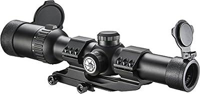 Barska 1-6x24 IR AR6 Tactical Riflescope with Reticle, Black by Barska