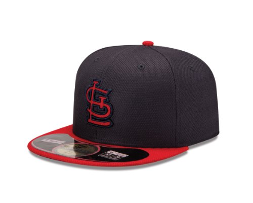 MLB St. Louis Cardinals Diamond Era 59Fifty Baseball Cap,St. Louis Cardinals,7.25 (Louis Cardinals Gear)