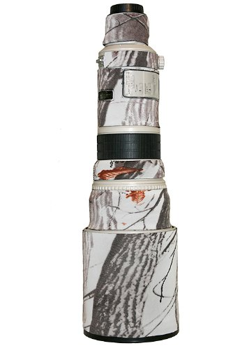 LensCoat LC500SN Canon 500 Lens Cover (Realtree AP Snow)