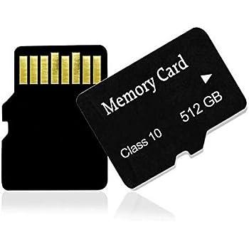 Amazon.com: Tarjeta de memoria SD de 512 GB para teléfonos ...