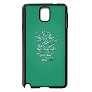 Samsung Galaxy Note 3 Cell Phone Case Black You Cant Have Everything Iuolz
