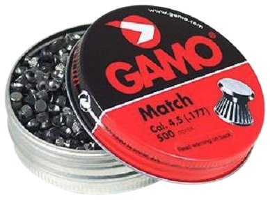 Gamo 632003454 Precision Match Pellets .177 Caliber Tin of 5