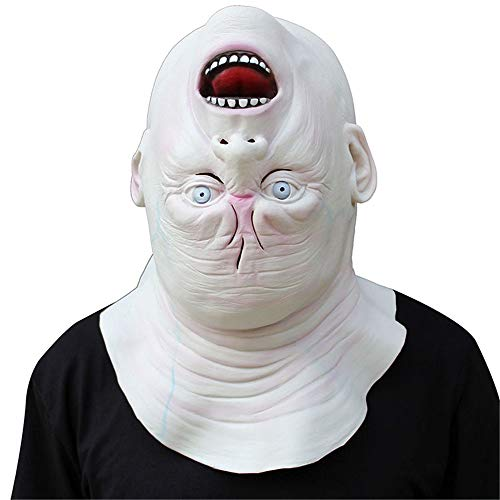 Festival Party Supplies Halloween Latex Mask Horrifying Mask Latex Mask For Masquerade Halloween Costume Bar Realistic Creepy Mask women and men Party Cosplay Props Halloween female Masks -