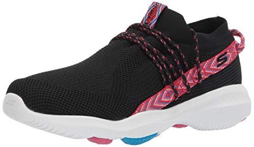 Skechers Women's GO Walk Revolution ULTRA-15672 Sneaker, Black/hot Pink, 10 M US (Skechers Go Walk Black And Hot Pink)